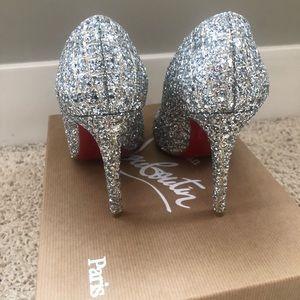 b95d306cb4b Christian Louboutin Shoes - Christian Louboutin Fifille 100 Aliglitter shoes